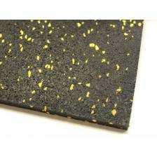 Gummapan Dots 8mm yellow - wykładzina do siłowni/fitness