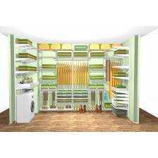 Projekt garderoby/szafy wnękowej Elfa