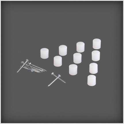 Połączenie półki S3 (10 szt.) biały
