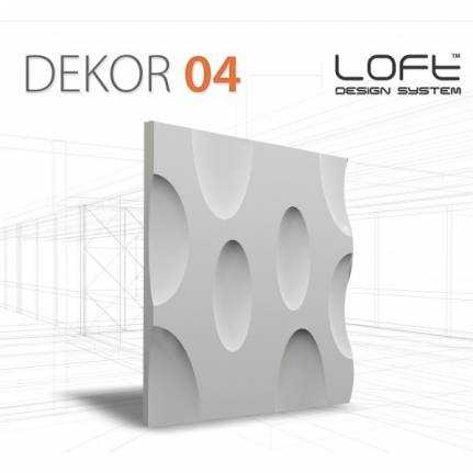 Panel ścienny 3D Loft System Model 04