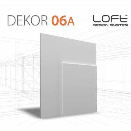 Panel ścienny 3D Loft System Model 06/A
