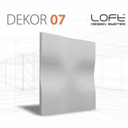 Panel ścienny 3D Loft System Model 07