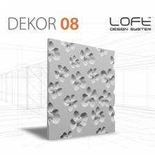 Panel ścienny 3D Loft System Model 08