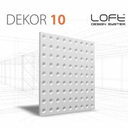 Panel ścienny 3D Loft System Model 10