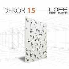Panel ścienny 3D Loft System Model 15