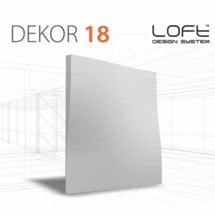 Panel ścienny 3D Loft System Model 18