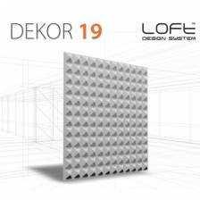 Panel ścienny 3D Loft System Model 19