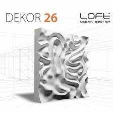 Panel ścienny 3D Loft System Model 26