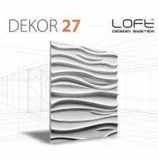 Panel ścienny 3D Loft System Model 27
