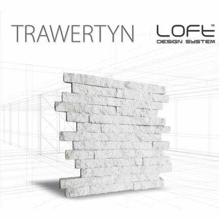 Panel ścienny 3d Loft System Model Trawertyn