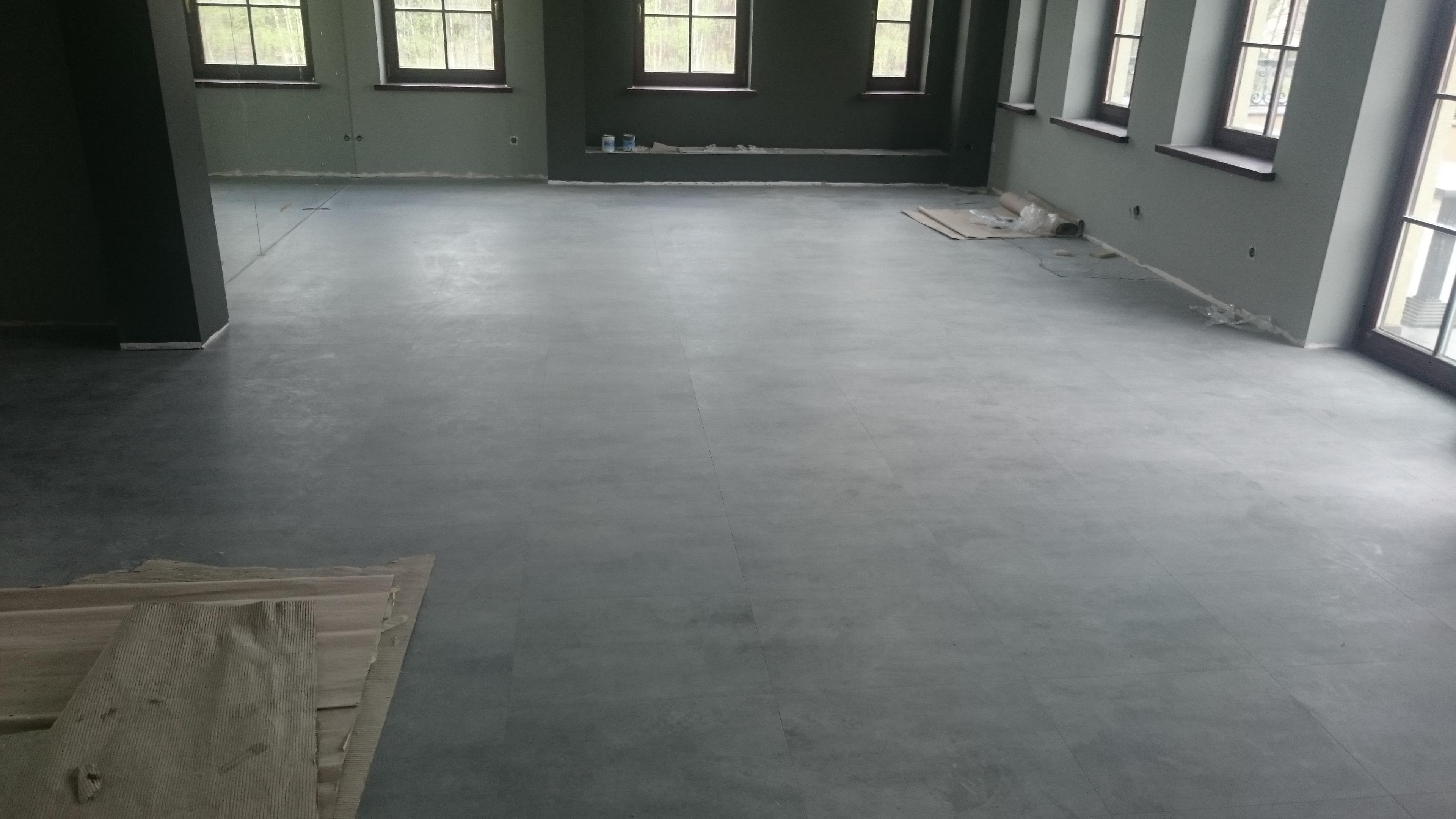 Panele Winylowe Design Flooring LooseLay (obiekt usługowy Katowice)