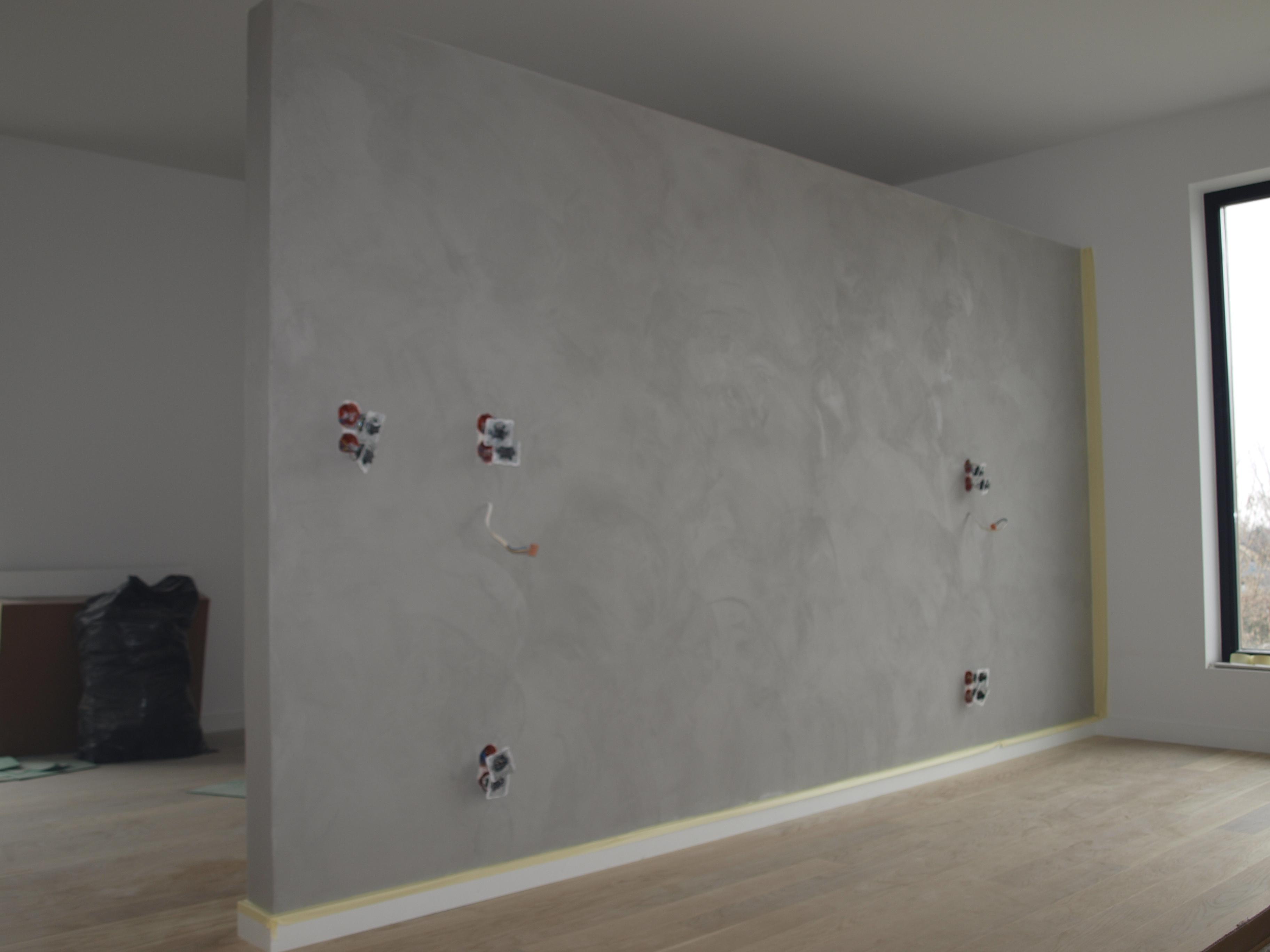 Beton dekoracyjny HD Surface (dom prywatny, Częstochowa)