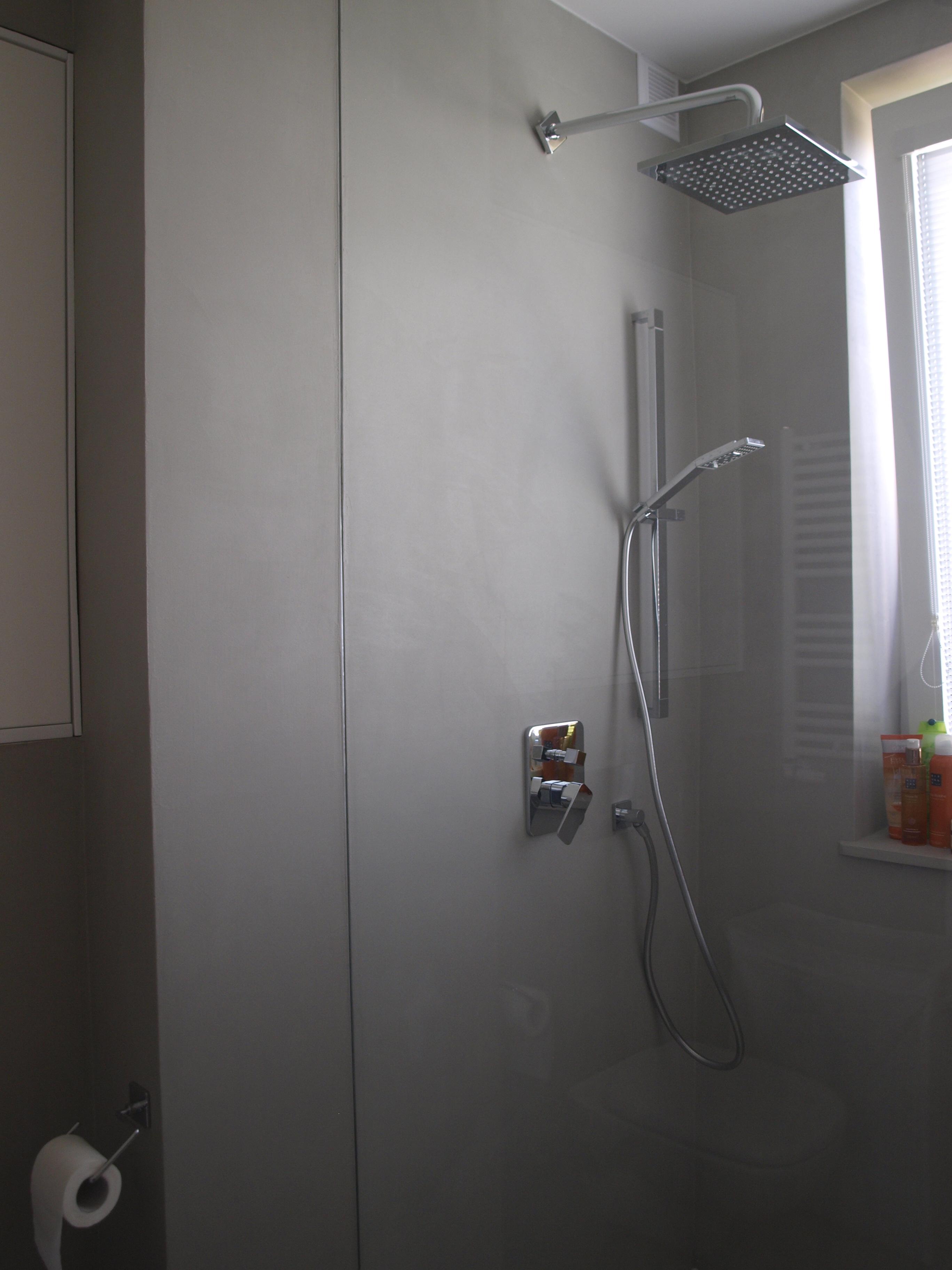 nowoczesna łazienka z betonu dekoracyjnego HD Surface